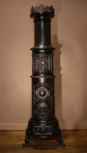 Godthaab tall crown oven antique stove